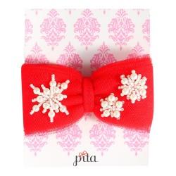 Pita Fufu Snowflake Headband - Red