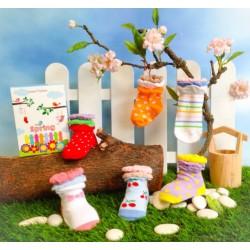 Happy Toes Socks 6 Packs - Spring
